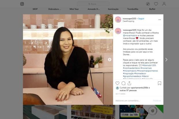 MORAR MAIS POR MENOS no instagram NOSSOAPE1205 em 14 de agosto de 2019