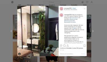 MORAR MAIS POR MENOS no instagram NOSSOAPE1205 em 17 de agosto de 2019
