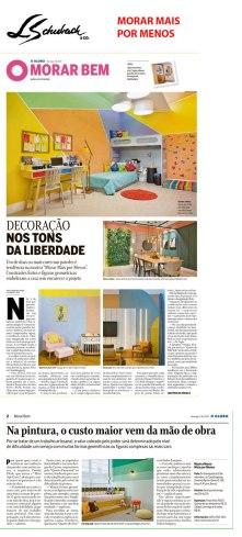 MORAR MAIS POR MENOS no jornal O GLOBO, de 4 de agosto de 2019