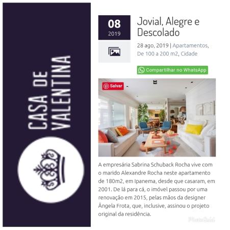 MORAR MAIS POR MENOS no site CASA DE VALENTINA publicado em 28 de agosto de 2019