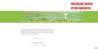 MORAR MAIS POR MENOS no site LULACERDA, em 06 de agosto de 2019
