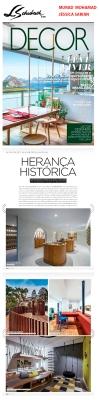 MURAD MOHAMAD E JÉSSICA SARRIÁ na revista DECOR em 15 de setembro de 2019