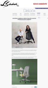 NOVO AMBINETE no site DELOOX em 27 de setembro de 2019