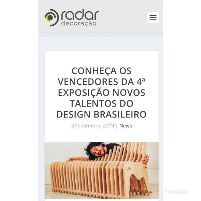 NOVOS TALENTOS no site RADAR DECORAÇÃO em 27 de setembro de 2019