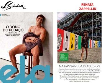 RENATA ZAPPELLINI na revista ELA em 29 de setembro de 2019