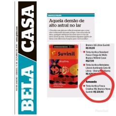 AMOEDO no caderno BELA CASA do jornal OGLOBO em 5 de outubro de 2019