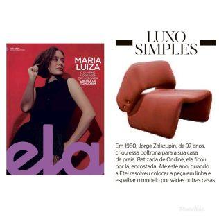 ARQUIVO CONTEMPORÂNEO na revista ELA em 20 de outubro de 2019