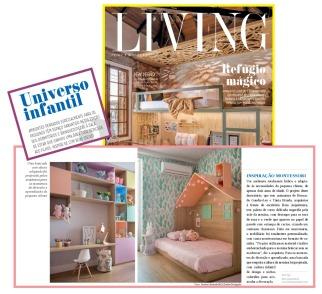 BETA ARQUITETURA na revista LIVING em 3 de outubro de 2019