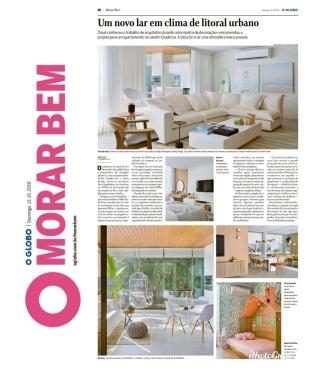 BETA ARQUITETURA no caderno MORAR MAIS do jornal OGLOBO em 13 de outubro de 2019