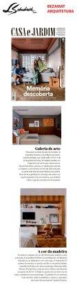 BEZAMAT ARQUITETURA na revista CASA E JARDIM em 3 de outubro de 2019