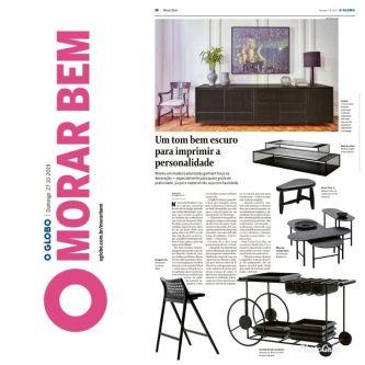 BEZAMAT ARQUITETURA no caderno MORAR BEM do jornal OGLOBO em 27 de outubro de 2019