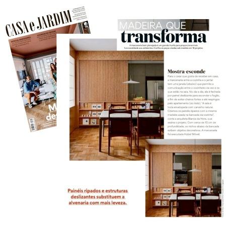 BIANCA DA HORA na revista CASA E JARDIM de outubro de 2019 (INSTAGRAM)
