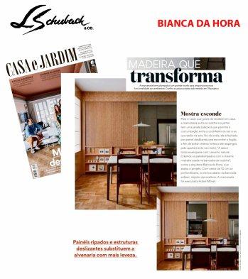 BIANCA DA HORA na revista CASA E JARDIM de outubro de 2019