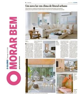 BIANCA DA HORA no caderno MORAR MAIS do jornal OGLOBO em 13 de outubro de 2019