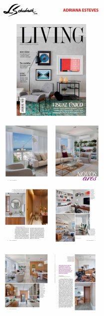 ADRIANA ESTEVES ARQUITETURA na revista LIVING em 12 de novembro de 2019