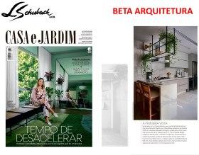 BETA ARQUITETURA na revista CASA E JARDIM de novembro de 2019