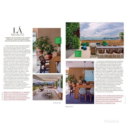 CARMEN MOURO na revista ELA em 10 de novembro de 2019