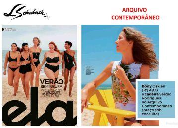 ARQUIVO CONTEMPORÂNEO na Revista ELA, do jornal O GLOBO, em 01 de dezembro de 2019