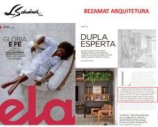 BEZAMAT ARQUITETURA na revista ELA, do jornal O Globo, em 22 de dezembro de 2019
