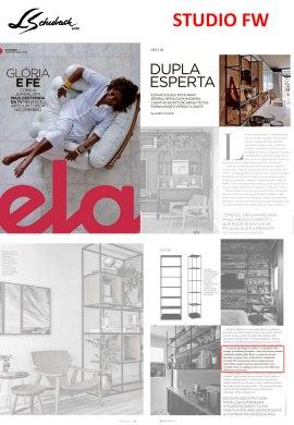 STUDIO FW na revista ELA, do jornal O Globo, em 22 de dezembro de 2019