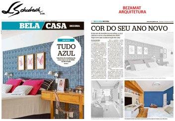 BEZAMAT ARQUITETURA no caderno BELA CASA, do jornal EXTRA, em 5 de janeiro de 2020
