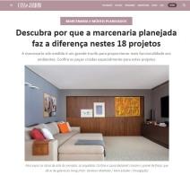 BEZAMAT ARQUITETURA no site CASA E JARDIM em 20 de janeiro de 2020 - insta 2