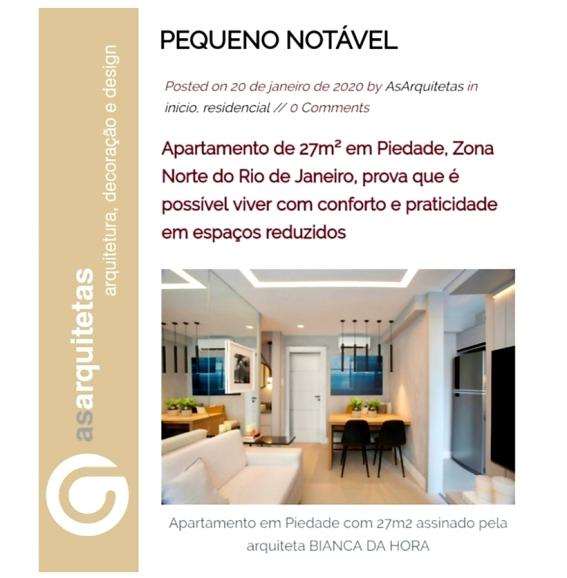 BIANCA DA HORA no site AS ARQUITETAS publicado em 20 de janeiro de 2020