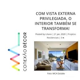 BIANCA DA HORA no site CONEXÃO DECOR publicado em 21 de janeiro de 2020