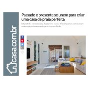 BRISE ARQUITETURA no site Casa.com.br publicado em 7 de janeiro de 2020