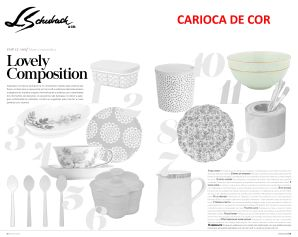 CARIOCA DE COR na REVISTA DECOR de janeiro de 2020