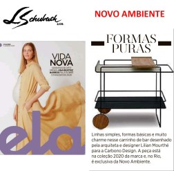 NOVO AMBIENTE na Revista ELA, do jornal O GLOBO, em 5 de janeiro de 2020