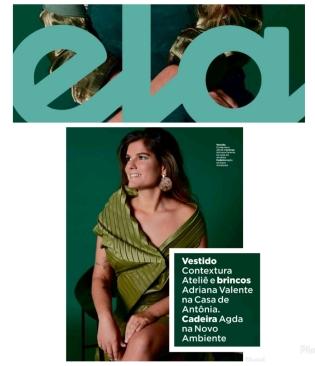 NOVO AMBIENTE na REVISTA ELA do jornal O GLOBO publicado em 20 de janeiro de 2020