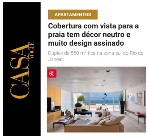 RENATA DECOR no site CASA VOGUE publicado em 17 de janeiro de 2020